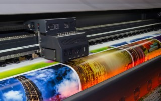 Wide printer DTS