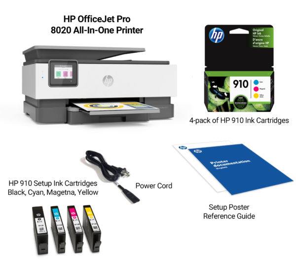 HPOfficeJet8020Bundle 600x569 - HP OfficeJet Pro 8020 AIO Bundle