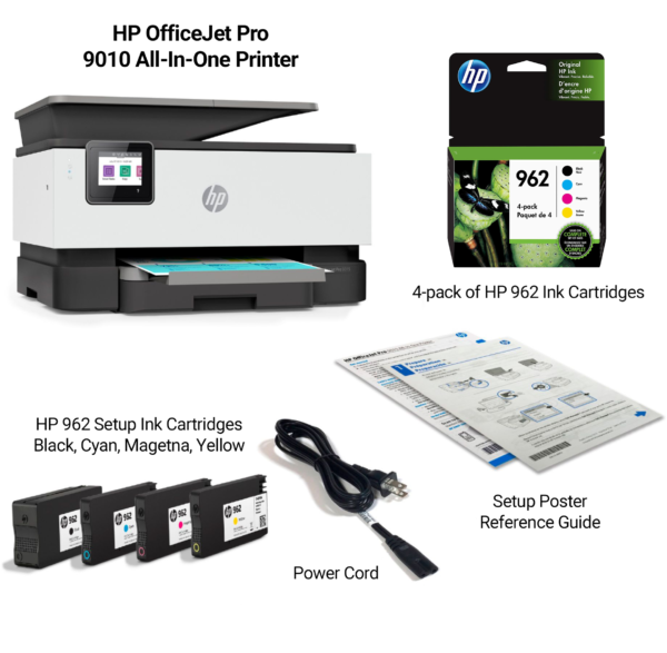 HPOfficeJet9010Bundle 600x587 - HP OfficeJet Pro 9010 AIO Bundle